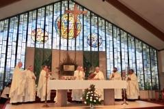 Concelebrating priests