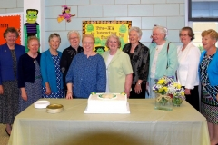 The Holy Faith Sisters who attended the celebration