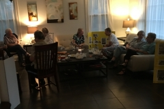 The D'Arcy family of New Orleans invited the Sisters to dinner and to socialize on the eve of our celebration.