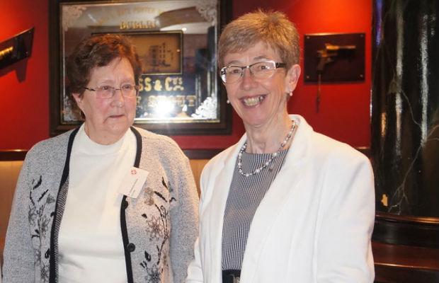 Sr Antoinette Keelan CHF &  Dr Eilis Humphreys